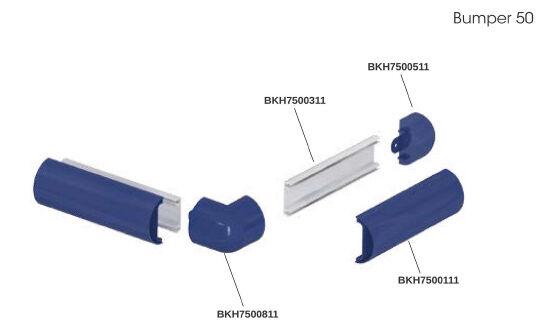 Bumper 50 - ütközésvédelmi rendszer