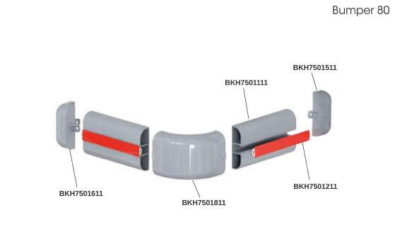 Bumper 80 - ütközésvédelmi rendszer